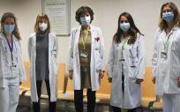 Equipo de la Unidad de covid persistente pediátrica (Foto. Hospital l Germans Trias )