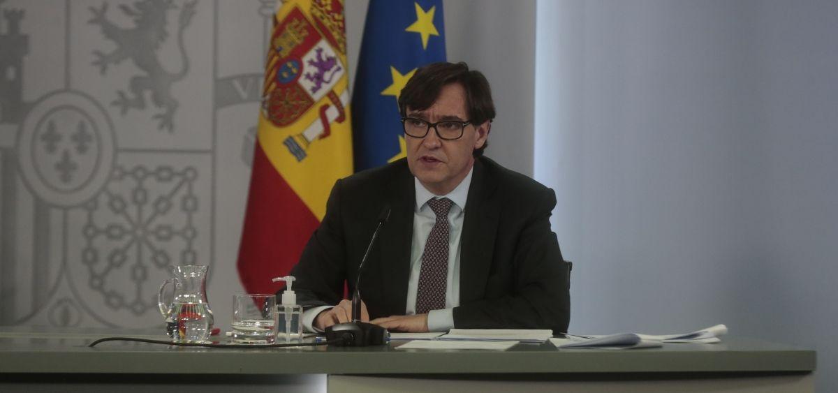 Salvador Illa, ministro de Sanidad (Foto: Pool Moncloa Ricardo Galán)