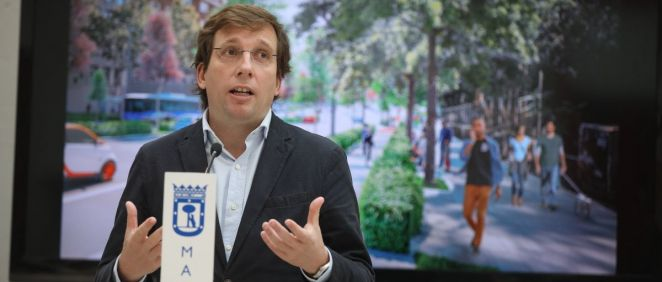 El alcalde de Madrid, José Luis Martínez-Almeida (Foto: Ayuntamiento Madrid)