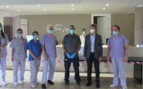 Profesionales del Complejo San Juan (Foto. PSN)