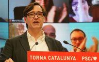 Salvador Illa, ministro de Sanidad y candidato del PSC a la Generalitat de Cataluña (Foto: PSC)