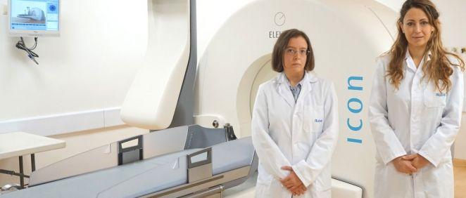 Las doctoras Mónica Lara Almunia y Cristina Torres Díaz, neurocirujanas se incorporan al equipo (Foto. Ruber Internacional)