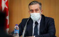 Enrique López, consejero de Justicia, Interior y Víctimas de la Comunidad de Madrid (Foto: CAM)