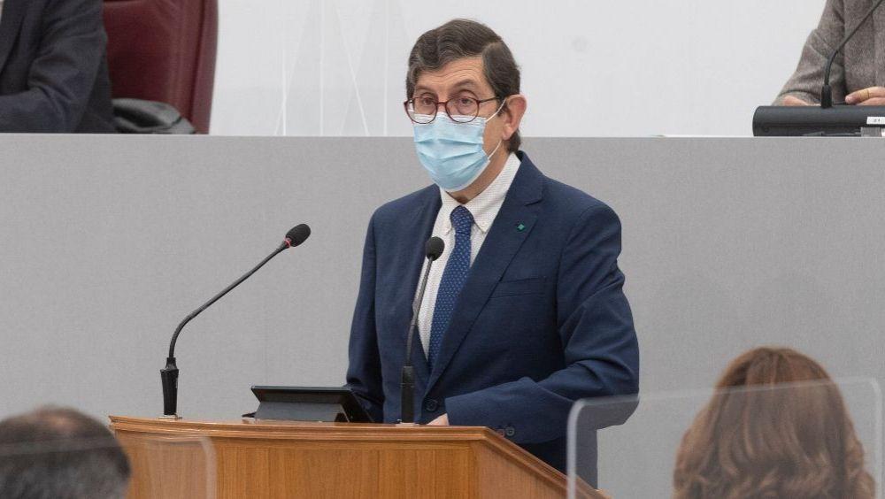 Manuel Villegas, consejero de Salud de Murcia (Foto: Asamblea de Murcia)