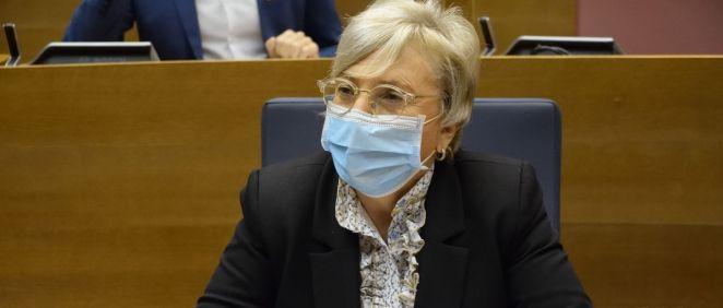 La consejera de Sanidad de la Comunidad Valenciana, Ana Barceló. (Foto. Flickr Corts Valencianes)