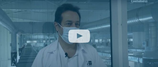 Fernando Prados habla para ConSalud.es en el Hospital Isabel Zendal. (Vídeo: Miguel Ángel Escobar)