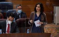 Isabel Díaz Ayuso, presidenta de la Comunidad de Madrid (Foto: Asamblea de Madrid)