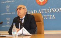 El consejero de Sanidad y Gobernación del Gobierno de Ceuta, Javier Guerrero (Foto. Gobierno de Ceuta/EP)