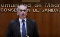 El consejero de Madrid, Enrique Ruiz Escudero (Foto. .CAÑAS.POOL   Europa Press)