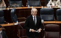 El consejero madrileño de Sanidad, Enrique Ruiz Escudero (Foto. Óscar Cañas   Europa Press)