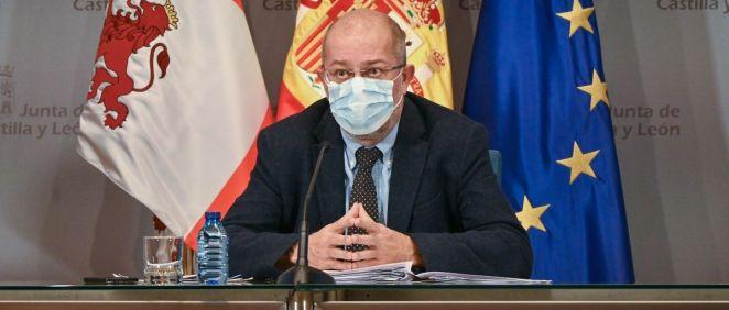 Francisco Igea, vicepresidente de Castilla y León (Foto: Jcyl)