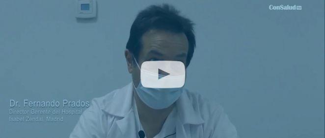 Entrevista a Fernando Prados, gerente del Hospital Isabel Zendal (Vídeo: Miguel Ángel Escobar)