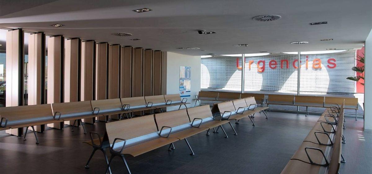 Sala de espera de urgencias pediátricas (Foto. HRJC)