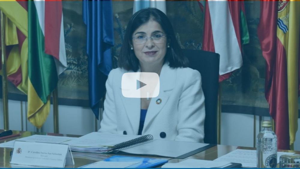 Carolina Darias, nueva ministra de Sanidad (Foto: MPTFP)