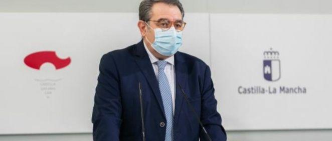 El consejero de Sanidad de C La Mancha, Jesús Fernández Sanz (Foto. Sescam)