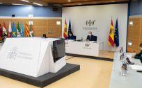 Pleno del Consejo Interterritorial del SNS presidido por Carolina Darias y Miquel Iceta, ministros de Sanidad y Política Territorial (Foto: Pool Moncloa / Borja Puig de la Bellacasa)