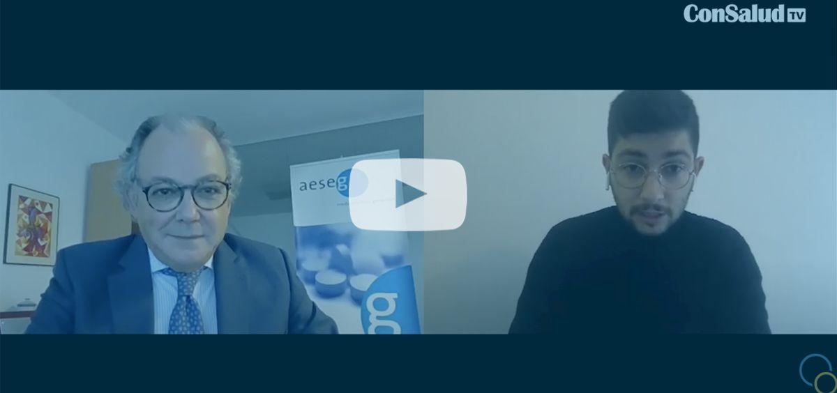 ConSalud TV entrevista al secretario general de Aeseg, Ángel Luis Rodríguez de la Cuerda.