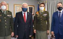 Reunión entre Enfermería civil y militar (Foto. CGE)