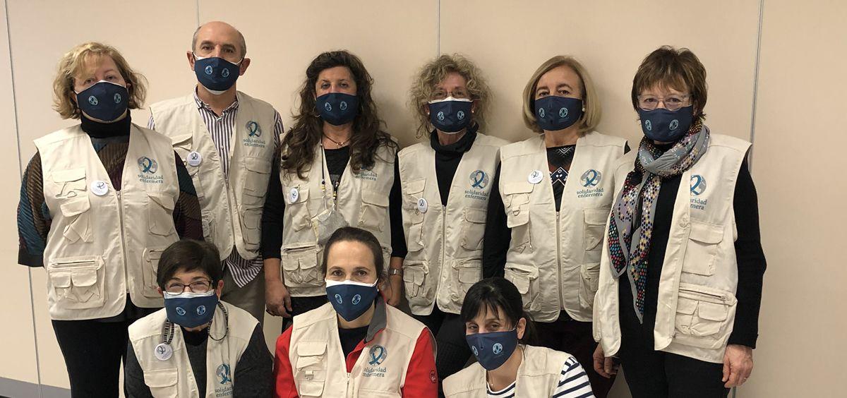 Miembros de Solidaridad Enfermera Álava (Foto. CGE)