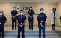Los investigadores de Fisioterapia, Enfermería y Medicina de la CEU UCH, autores del estudio.
