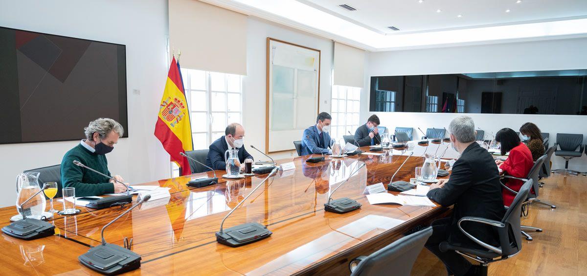 Comité de Seguimiento del coronavirus. (Foto. Pool Moncloa. Borja Puig de la Bellacasa)