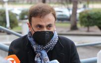 El cómico José Mota, a su llegada como víctima de estafa a la segunda sesión del juicio a Paco Sanz (Foto. Marta Fernández   Europa Press)
