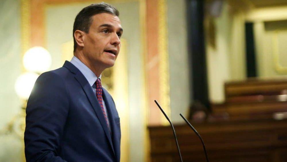El presidente del Gobierno, Pedro Sánchez, compareciendo en el Congreso de los Diputados (Foto: Congreso)