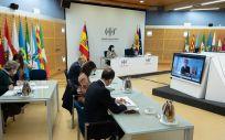 Consejo Interterritorial del Sistema Nacional de Salud. (Foto. Pool Moncloa. Borja Puig de la Bellacasa)
