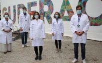 Equipo del Hospital Vall d'Hebron (Foto. Vall d'Hebron)