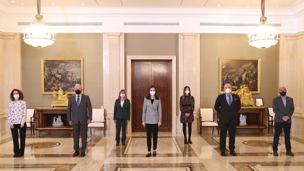 La Reina Letizia, volcada con la salud mental