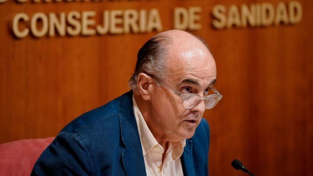 Antonio Zapatero, viceconsejero de Salud Pública y Plan Covid-19 de la Comunidad de Madrid (Foto: CAM)