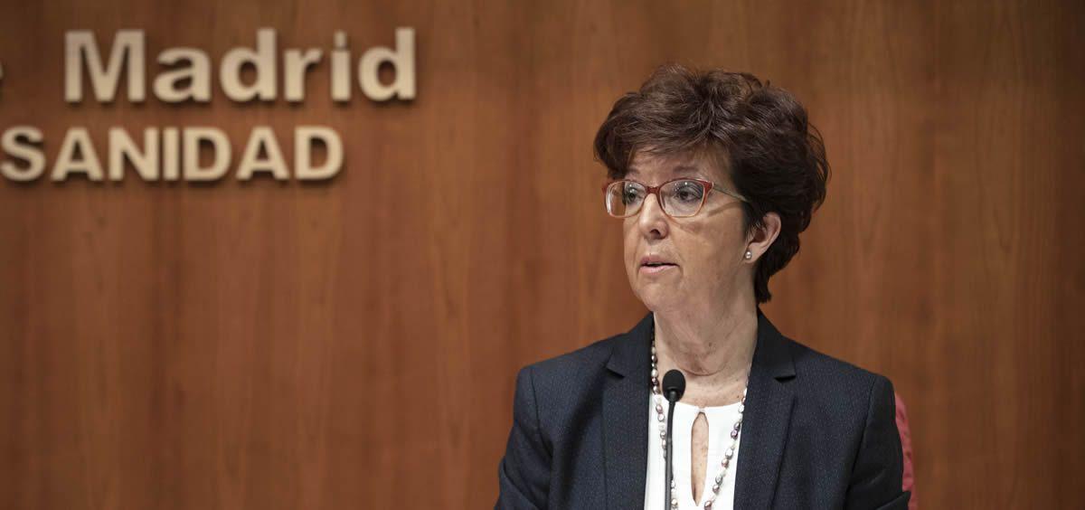 Elena Andradas, directora general de Salud Pública de la Comunidad de Madrid (Foto: Comunidad de Madrid)