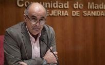 Antonio Zapatero, viceconsejero de Salud Pública y Plan Covid-19 de la Comunidad de Madrid (Foto: Comunidad de Madrid)