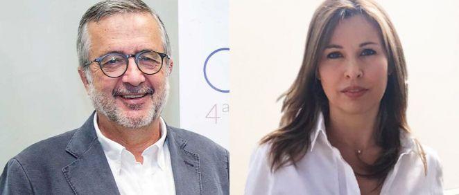 Javier Benítez, presidente de la Fundación QUAES y Lorena Saus, CEO de Grupo Biomédico Ascires (Foto. Fundación QUAES/Grupo Biomédico Ascires)