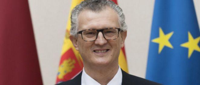 Juan José Pedreño, consejero de Salud de Murcia (Foto. CARM)