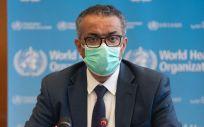 El director general de la OMS, Tedros Adhanom (Foto. OMS  EP)