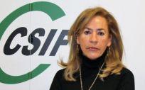 La presidenta del sector de Sanidad de CSIF Comunidad Valenciana, Dolly Prunés. (Foto. CSIF)