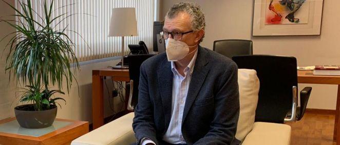 Juan José Pedreño, consejero de Salud de la Región de Murcia (Foto: CARM)
