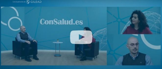 Entrevista en el plató de ConSalud TV a José Manuel Martínez Sesmero, jefe del Servicio de Farmacia del Clínico San Carlos
