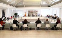 Comisión Interministerial para la Recuperación, Transformación y Resiliencia (Foto: Pool Moncloa / Fernando Calvo)