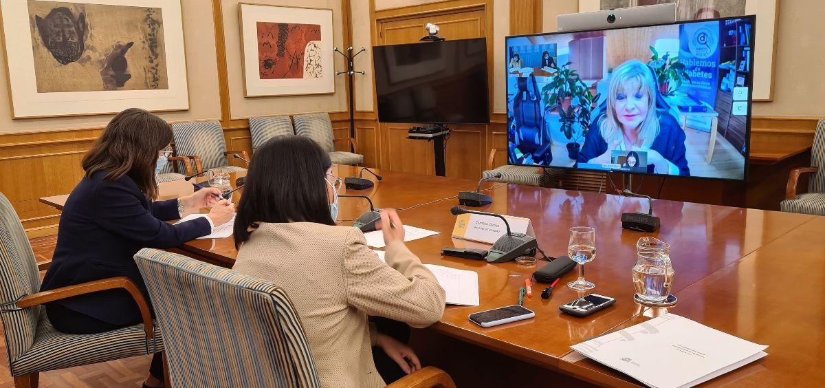 Carolina Darias se reúne con las Asociaciones de Pacientes (Foto. Ministerio de Sanidad)