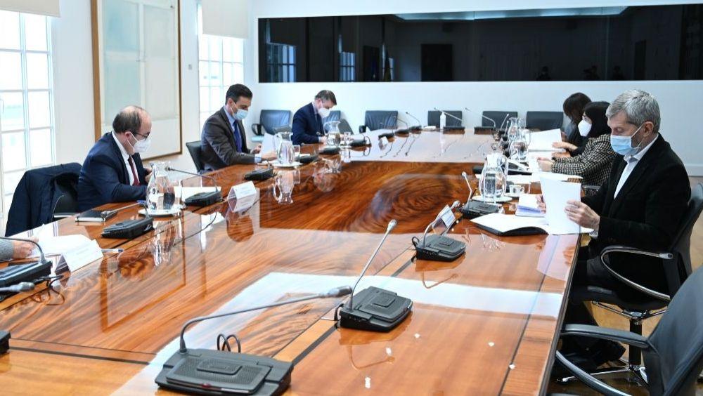 Comité de seguimiento del coronavirus (Foto: Pool Moncloa / Borja Puig de la Bellacasa)