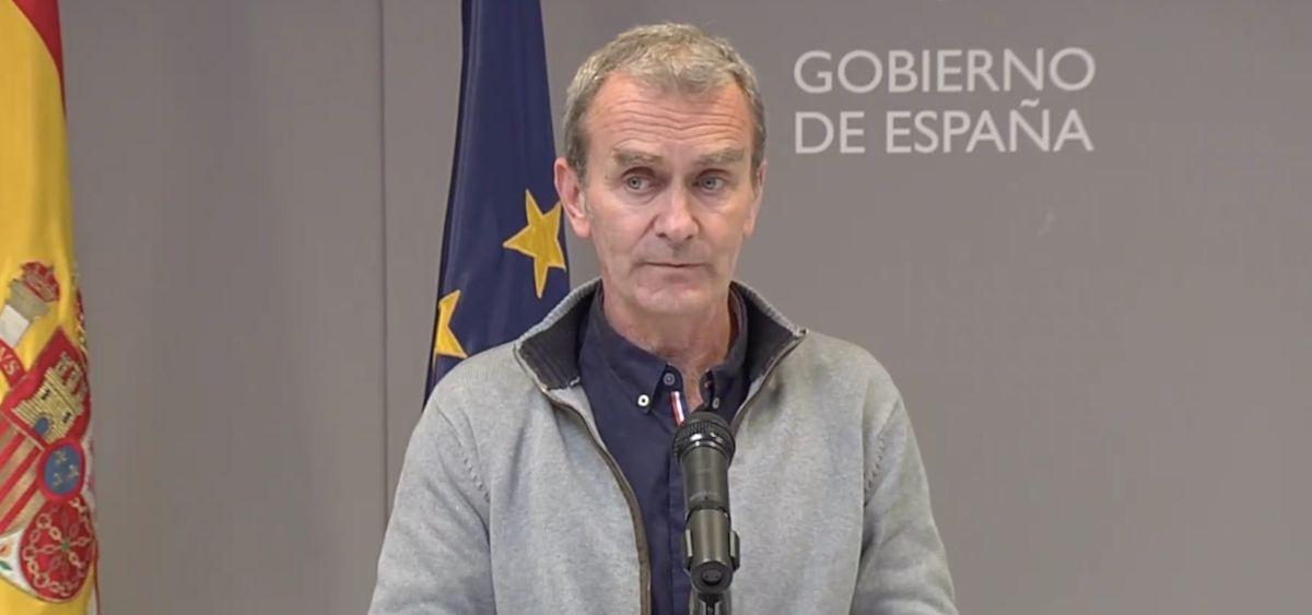 Fernando Simón, director del CCAES (Foto: Ministerio de Sanidad)