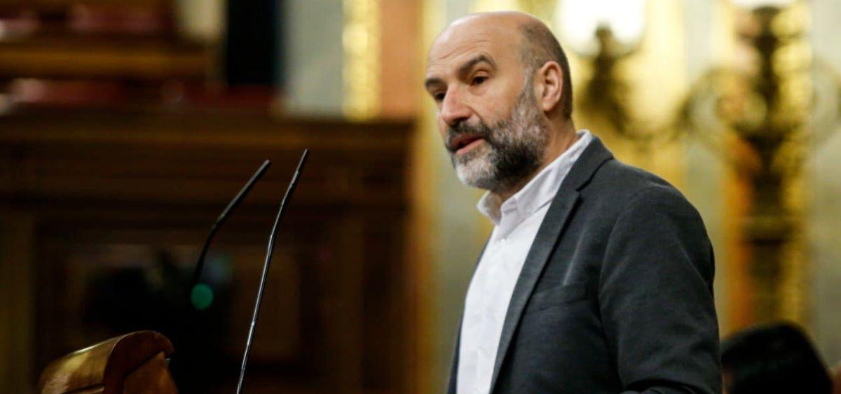 Nestor Rego, diputado del BNG en el Congreso de los Diputados (Foto: Congreso)