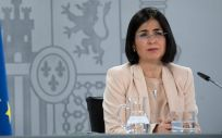 Carolina Darias, ministra de Sanidad, tras un Consejo Interterritorial (Foto: Pool Moncloa / Borja Puig de la Bellacasa)