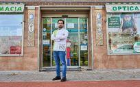 El influencer farmacéutico Guillermo Estrada, más conocido como @DocFarma. (Foto. G.E.)