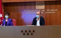 De izq. a der.: Elena Andradas, Antonio Zapatero y Mª Jesús Rodríguez Nieto (Foto: CAM)