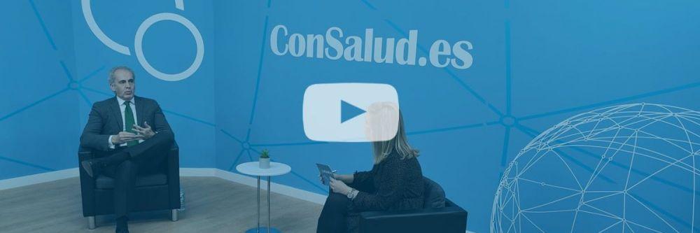 Enrique Ruiz Escudero, consejero de Sanidad de la Comunidad de Madrid (Foto. ConSalud TV)