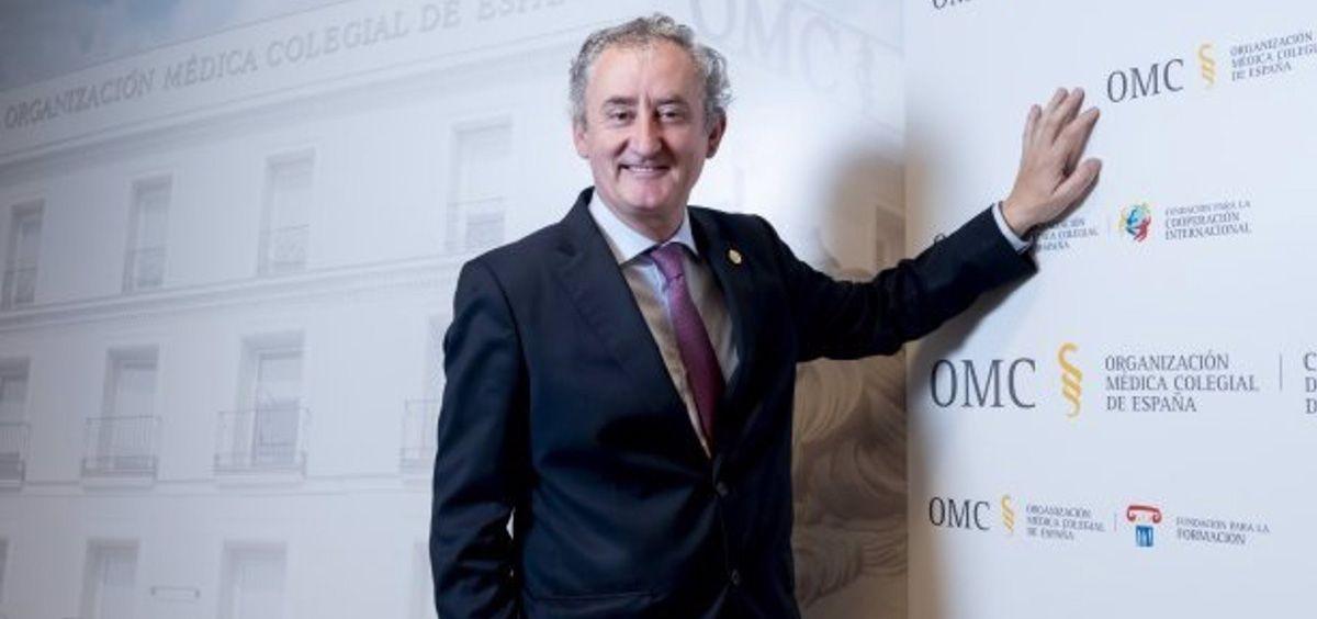El doctor Tomás Cobo, nuevo presidente del CGCOM (Foto. Médicos y Pacientes/EP)