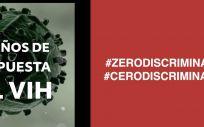 Campaña de Trabajando en Positivo por la cero discriminación por VIH.